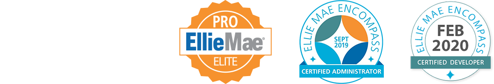 Lender Toolkit is an Ellie Mae Pro Select Partner and a Certified Administrator/Developer