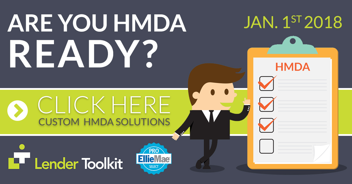 Are you HMDA Ready? Click here to learn more!