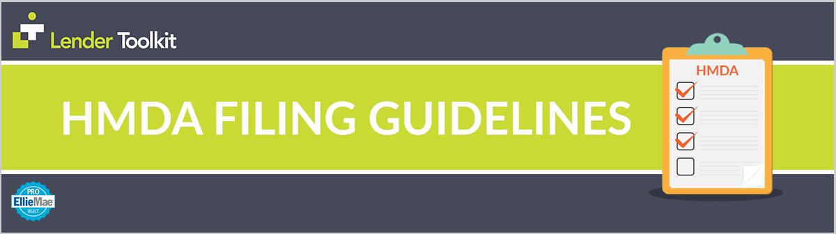 HMDA 2019 Filing Instructions