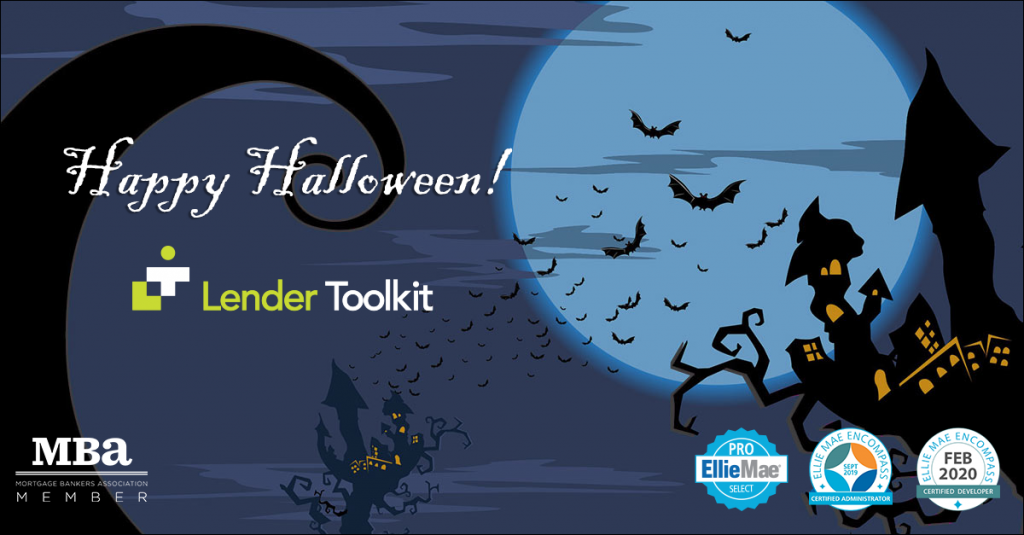 Happy Halloween from Lender Toolkit!