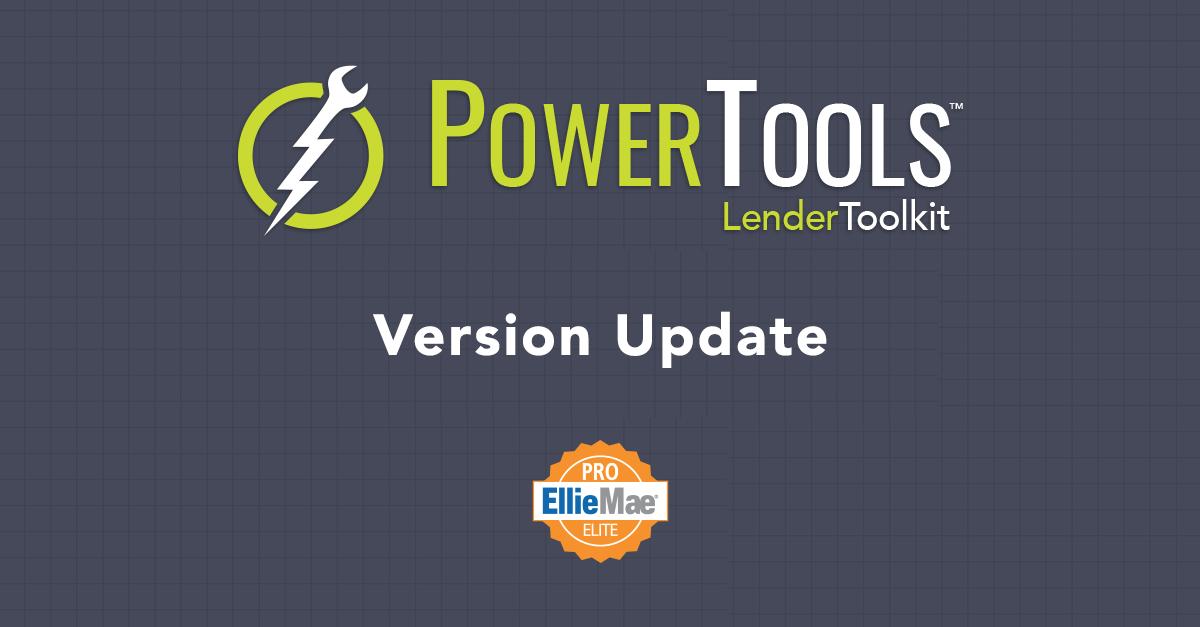 PowerTools Version Update